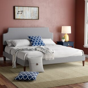 Ebony Upholstered Platform Bed by Andover Mills