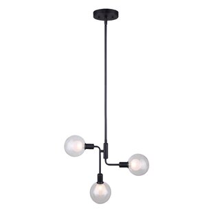 Ivy Bronx Poitras 3-Light Sputnik Chandelier