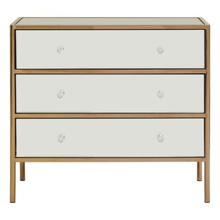 Dovercourt 3 Drawer Chest By Canora Grey