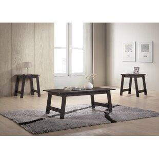 Halethorpe 3 Piece Coffee Table Set