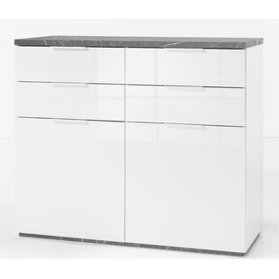Ame 4 Drawer Combi Chest By Ebern Designs