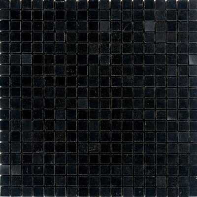 063 x 063 Granite Mosaic Tile in Absolute Black Epoch