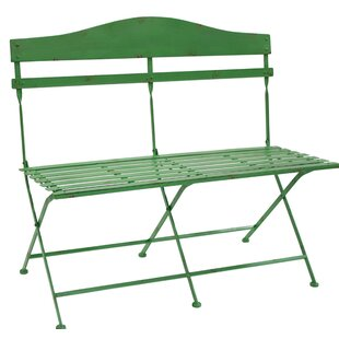 Trull Slotted Bench Metal Garden Bench