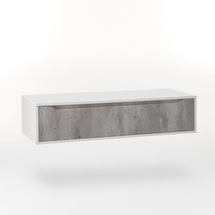 Review Yatts 120 X 27cm Wall Mounted Cabinet