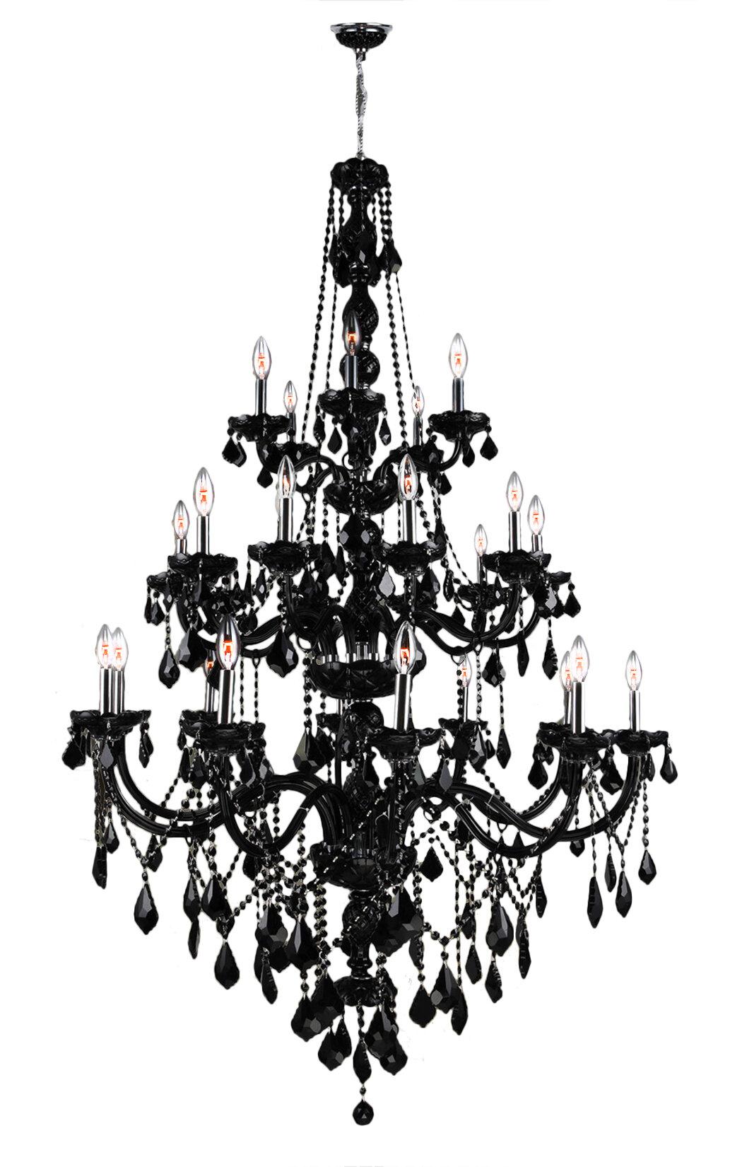 Astoria grand doggett 25 light crystal chandelier reviews wayfair arubaitofo Choice Image