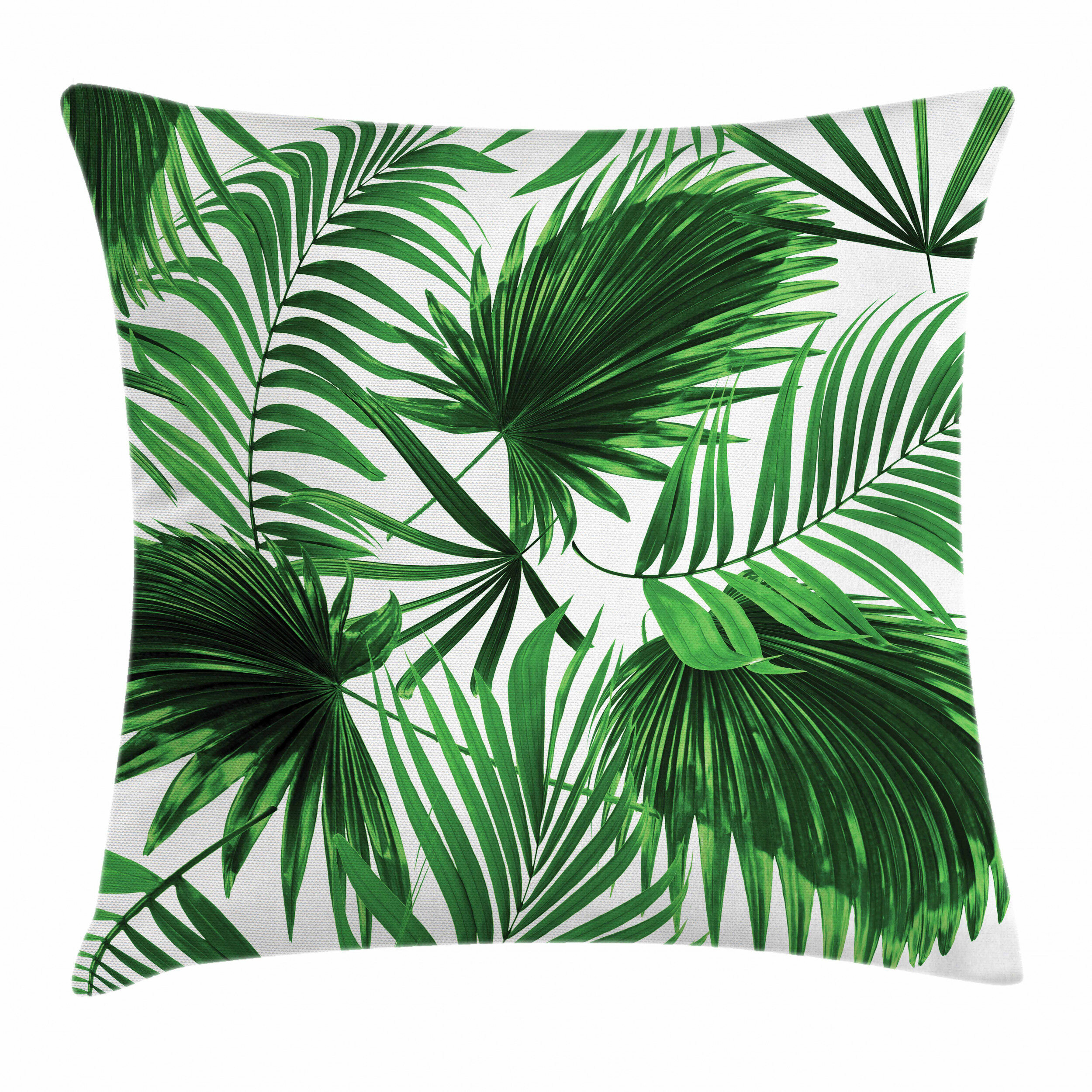 Alfie James Palm Leaf Vivid Leaves Growth Outdoor Cushion Cover