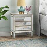 Beaty 3 Drawer Nightstand by House of Hampton®