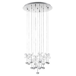 Purcell 16-Light Pendant by Everly Quinn