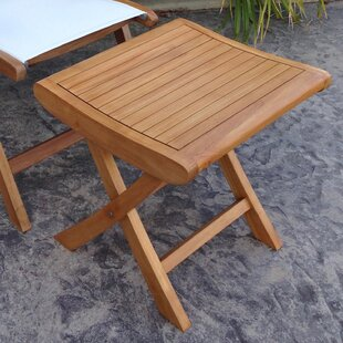 Francisco Outdoor Teak Ottoman by Darby Home Co