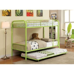 Reviews Cora Twin over Twin Bunk Bed By Harriet Bee