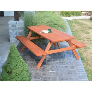 Red Barrel Studio Leuchte Wooden Picnic Table