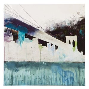 """""""Abstracted City"""" by Alliance Painting Print on Wrapped Canvas"""