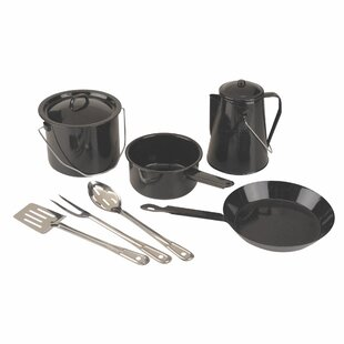 Enamel 8-Piece Cookware Set