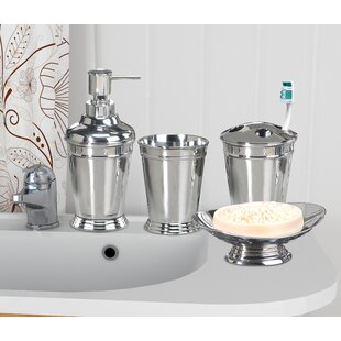 Darby Home Co Cambrie 4 Piece Bathroom Accessory Set