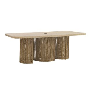 Aviano Wicker Dining Table