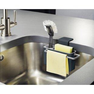 Sink Caddy Kitchen Sink Accessories You'll | Wayfair on under the sink caddy, under desk caddy, horseshoe kitchen caddy, under sink cabinet caddy, under computer caddy, under sink for cleaning caddy,