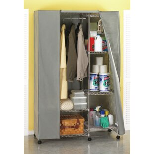 Cockerham 119cm Wide Clothes Storage System By Symple Stuff