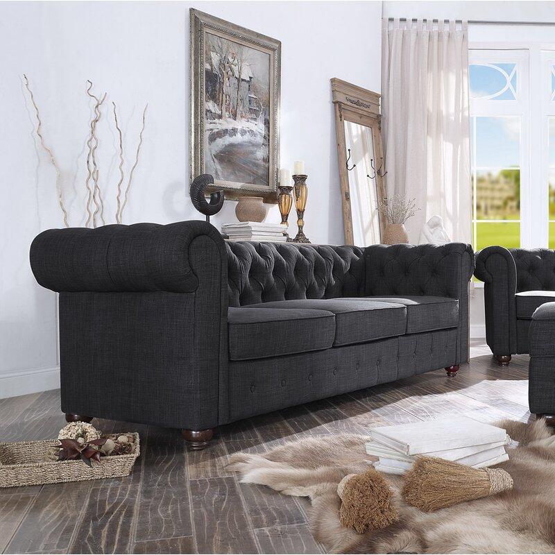 Genial Quitaque Chesterfield Sofa