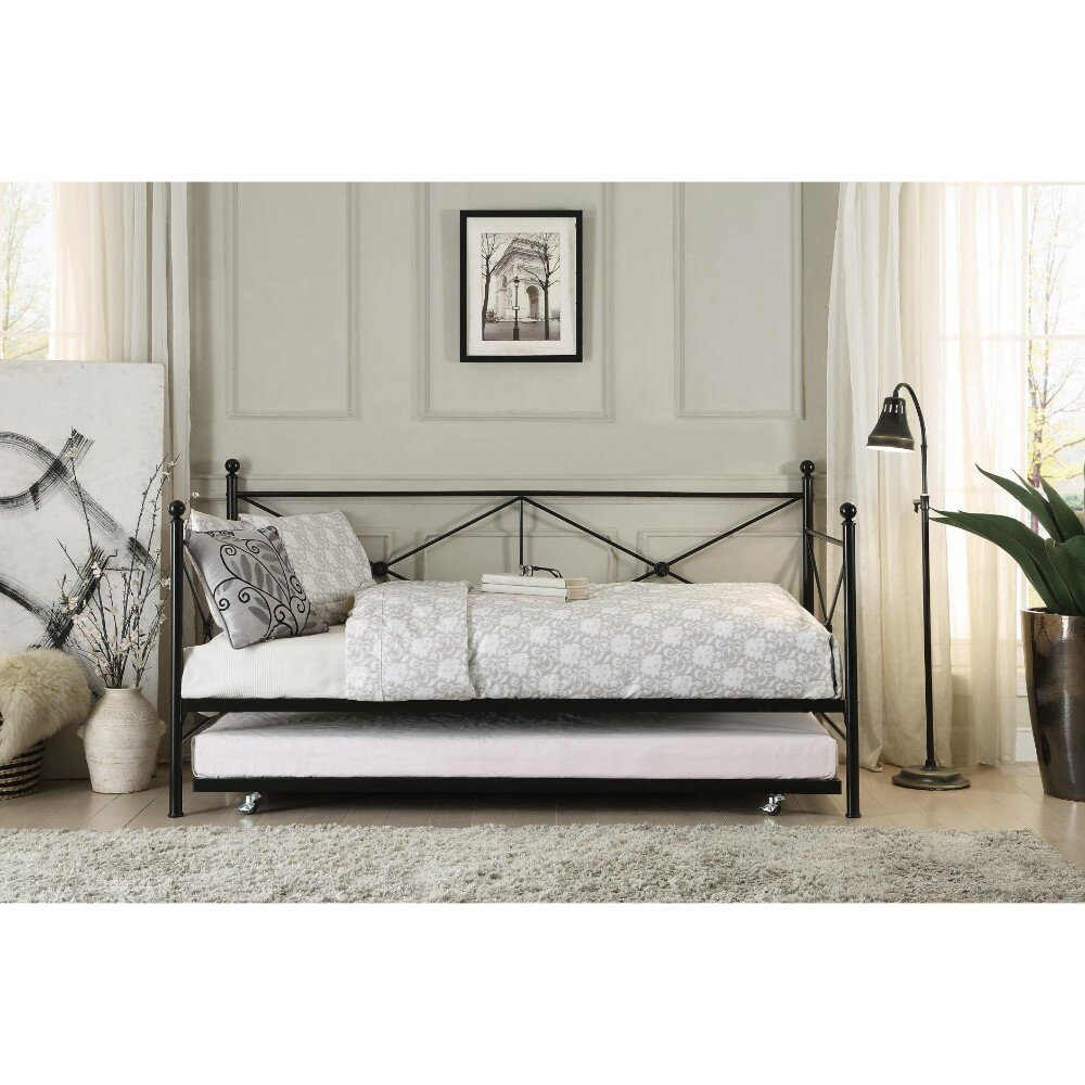 - Yarbrough Contemporary Daybed With Trundle Birch Lane