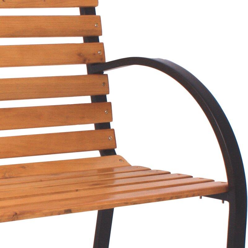 Lynton Garden Gartenbank aus Holz & Bewertungen | Wayfair.de