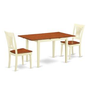 Norfolk 3 Piece Dining Set
