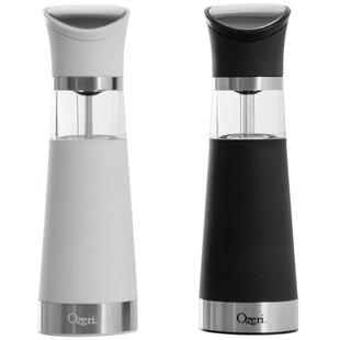 Graviti Pro Electric BPA-Free Salt and Pepper Grinder Set (Set of 2)