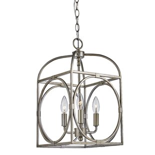 Eunice 3-Light Foyer Pendant by Darby Home Co