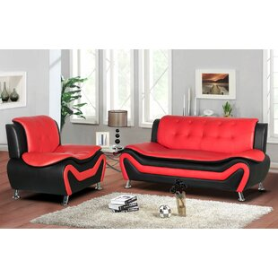 Gingerich 2 Piece Living Room Set by Orren Ellis