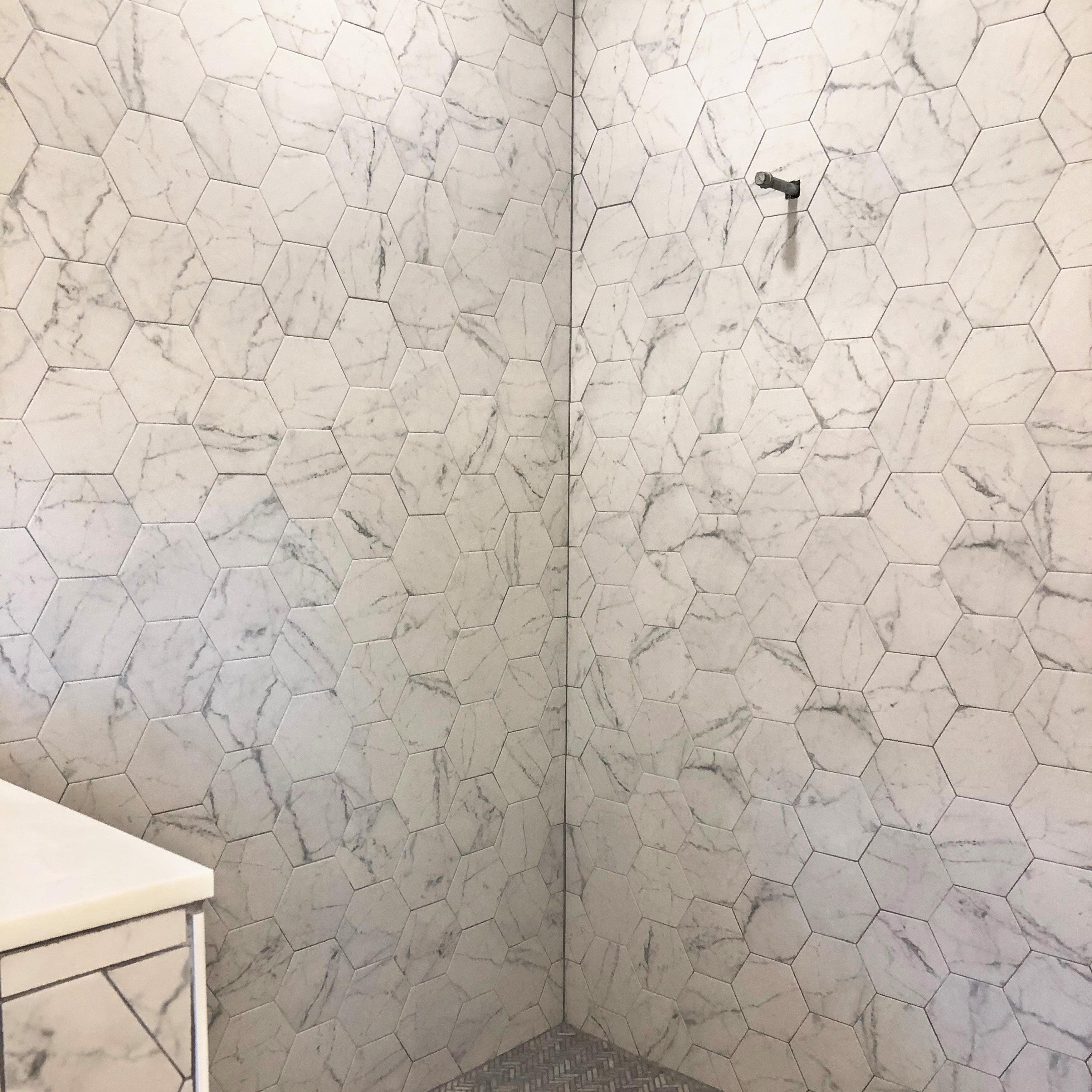 Elitetile Karra 7 X 8 Porcelain Stone Look Wall And Floor Tile Reviews Wayfair
