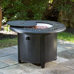 Alfresco Home Kinsale Aluminum Propane Fire Pit Table