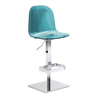 Nya Swivel Adjustable Bar Stool By Wade Logan