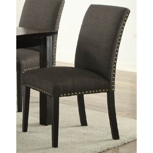 Bolivar Upholstered Dining Chair (Set of 2) by Charlton Home