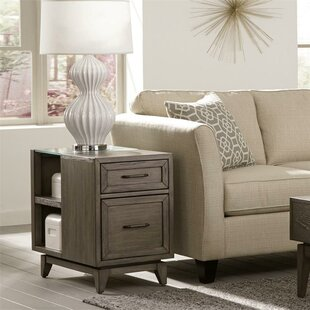 Affordable Price Malt End Table with Storage by Three Posts