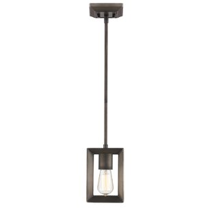 Thorne 1-Light Square/Rectangle Pendant by Three Posts