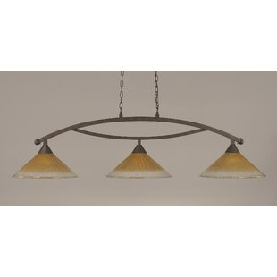 Fleur De Lis Living Blankenship 3-Light Billiard Light