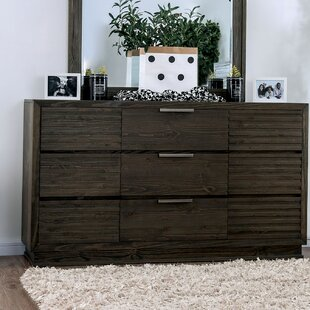 Larock 9 Drawer Dresser with Mirror