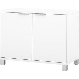 Pham 2 Door Storage Cabinet by Wrought Studio