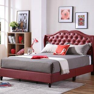 Rosdorf Park Cobbett Upholstered Panel Bed