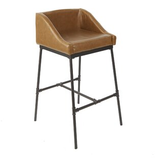 Seidel Industrial Pipe Square 29 Bar Stool by Williston Forge