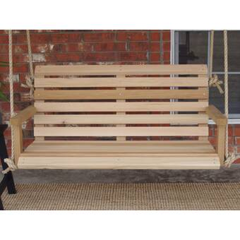 Millwood Pines Frary Lodge Style Porch Swing Wayfair