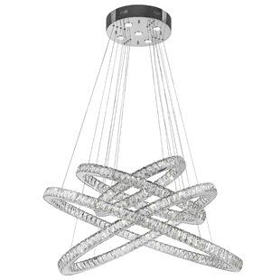 Soderberg 61-Light LED Crystal Chandelier by Orren Ellis