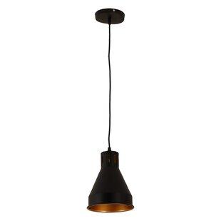 Williston Forge Lettie 1-Light Cone Pendant