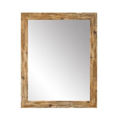 BrandtWorksLLC Barnwood Traditional Wall Mirror Size: 36 H x 32 W x 1 D
