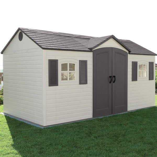 Side Entry Storage Shed | Wayfair