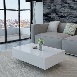 High Gloss White Coffee Table Wayfair