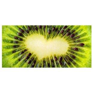 Kiwi Heart Magnet Board By East Urban Home