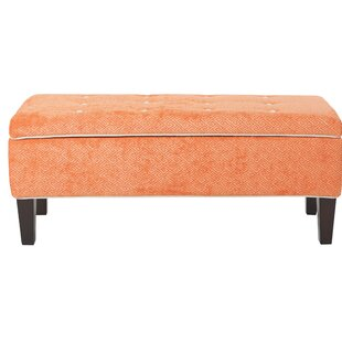 Venice Upholstered Storage Bench by Ivy Bronx