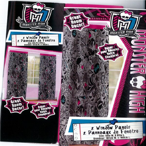 Monster High Curtains Wayfair