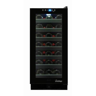 Vinotemp 33 Bottle Touch Screen Freestanding Wine Cooler