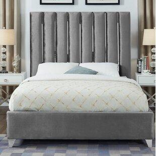 Reviews Dietrich Upholstered Platform Bed by Orren Ellis Reviews (2019) & Buyer's Guide